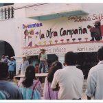 025 180406 La Otra en Suljaa - Acto en el Zócalo de Xochis