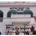 030 180406 La Otra en Suljaa - Acto en el Zócalo de Xochis