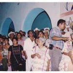 033 180406 La Otra en Suljaa - Acto en el Zócalo de Xochis