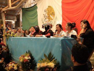 V Congreso Nacional Indígena, Oventik, Chiapas, 1 de enero de 2017. Foto: Medios Libres