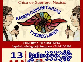 CONVOCATORIA Encuentro de Medios 13 aniversario Radio Ñomndaa
