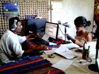Cabina radio Ñomndaa Transmision
