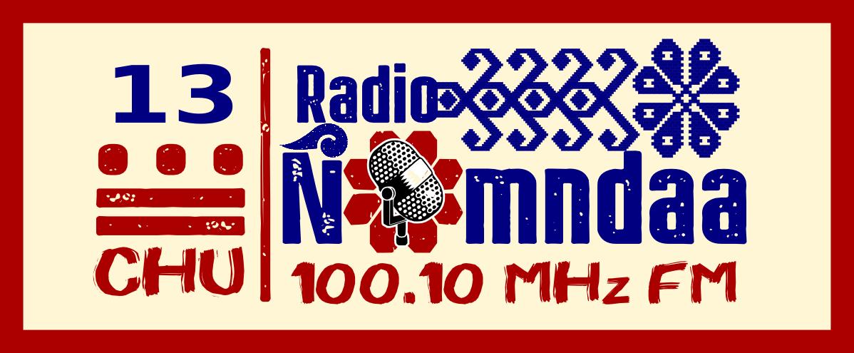 LOGO 13 aniversario Radio Ñomndaa